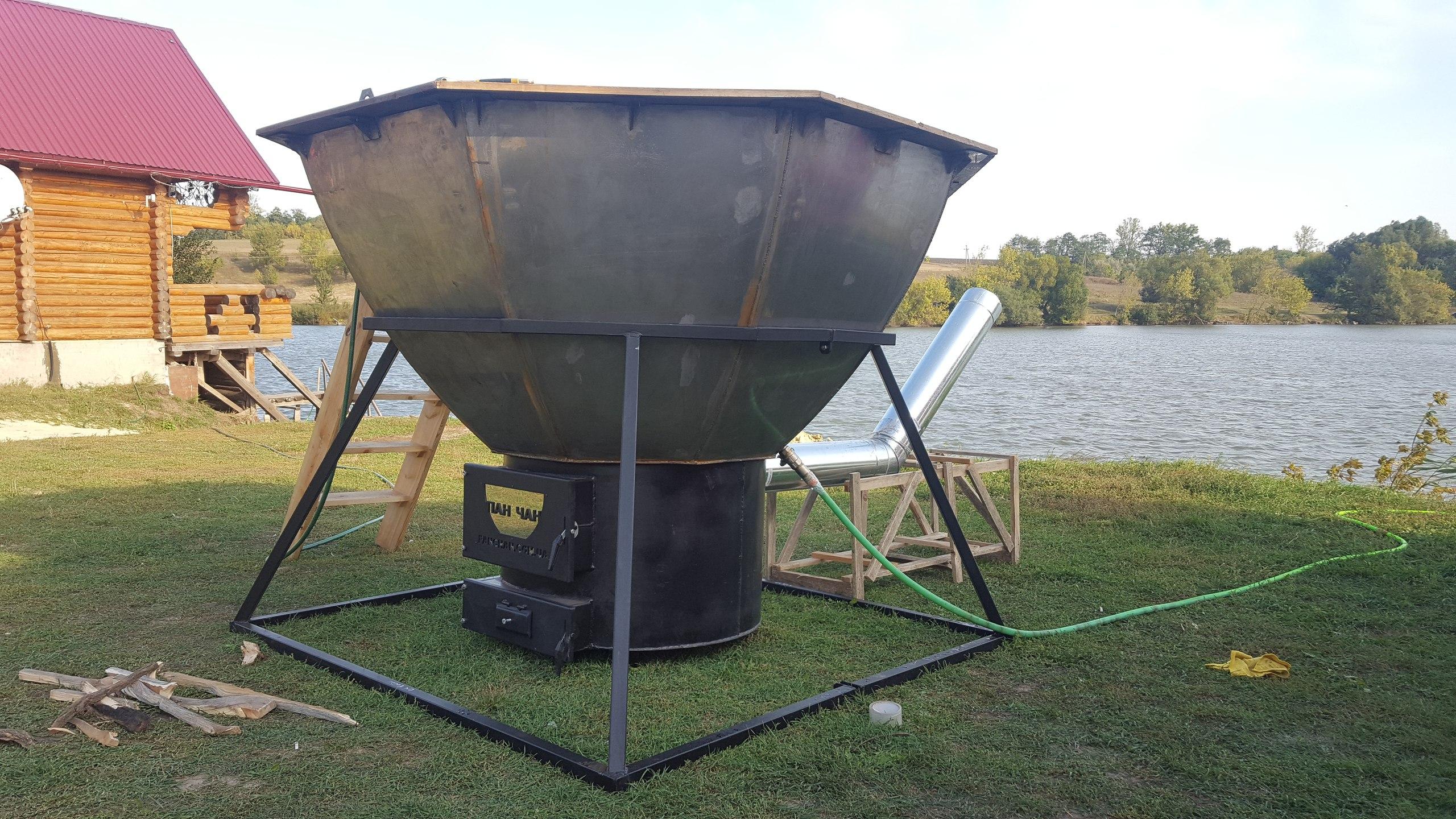Банный чан для купания